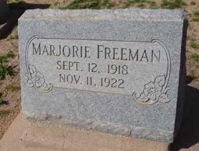 FREEMAN, MARJORIE - Pinal County, Arizona | MARJORIE FREEMAN - Arizona Gravestone Photos