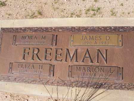 FREEMAN, MARION L. - Pinal County, Arizona | MARION L. FREEMAN - Arizona Gravestone Photos