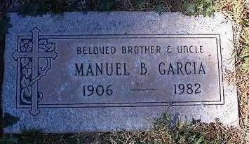GARCIA, MANUEL B. - Pinal County, Arizona | MANUEL B. GARCIA - Arizona Gravestone Photos