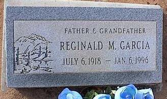 GARCIA, REGINALD M. - Pinal County, Arizona | REGINALD M. GARCIA - Arizona Gravestone Photos