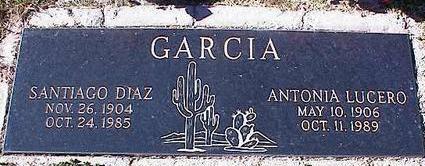 GARCIA, SANTIAGO DIAZ - Pinal County, Arizona | SANTIAGO DIAZ GARCIA - Arizona Gravestone Photos
