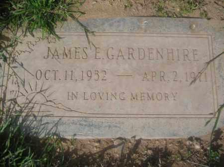 GARDENHIRE, JAMES E. - Pinal County, Arizona   JAMES E. GARDENHIRE - Arizona Gravestone Photos