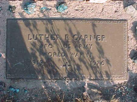 GARNER, LUTHER R. - Pinal County, Arizona | LUTHER R. GARNER - Arizona Gravestone Photos