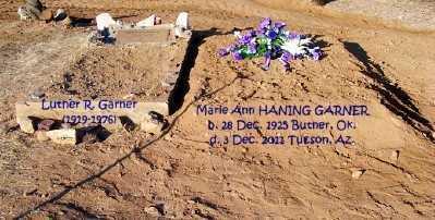 HANING GARNER, MARIE ANN - Pinal County, Arizona | MARIE ANN HANING GARNER - Arizona Gravestone Photos