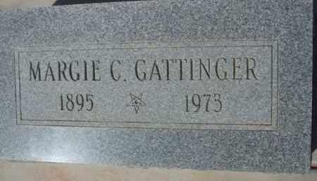 GATTINGER, MARGIE C. - Pinal County, Arizona   MARGIE C. GATTINGER - Arizona Gravestone Photos