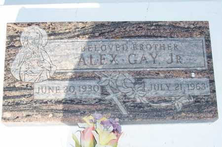 GAY, ALEX JR. - Pinal County, Arizona   ALEX JR. GAY - Arizona Gravestone Photos