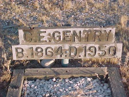 GENTRY, CHARLES EDWARD - Pinal County, Arizona   CHARLES EDWARD GENTRY - Arizona Gravestone Photos