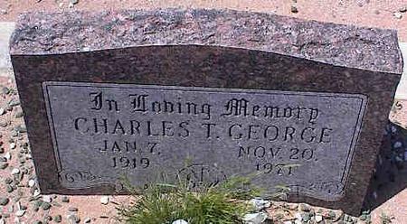 GEORGE, CHARLES T. - Pinal County, Arizona | CHARLES T. GEORGE - Arizona Gravestone Photos