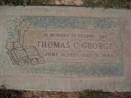 GEORGE, THOMAS C. - Pinal County, Arizona | THOMAS C. GEORGE - Arizona Gravestone Photos