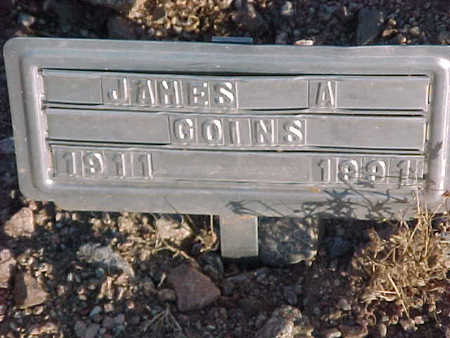 GOINS, JAMES  A. - Pinal County, Arizona | JAMES  A. GOINS - Arizona Gravestone Photos