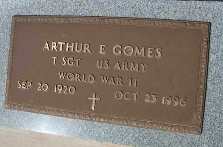 GOMES, ARTHUR E. - Pinal County, Arizona   ARTHUR E. GOMES - Arizona Gravestone Photos
