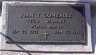 GONZALES, JUAN T. - Pinal County, Arizona | JUAN T. GONZALES - Arizona Gravestone Photos