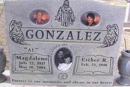 GONZALEZ, ESTHER R. - Pinal County, Arizona | ESTHER R. GONZALEZ - Arizona Gravestone Photos