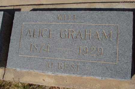 GRAHAM, ALICE - Pinal County, Arizona   ALICE GRAHAM - Arizona Gravestone Photos