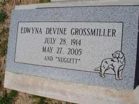 GROSSMILLER, EDWYNA - Pinal County, Arizona   EDWYNA GROSSMILLER - Arizona Gravestone Photos