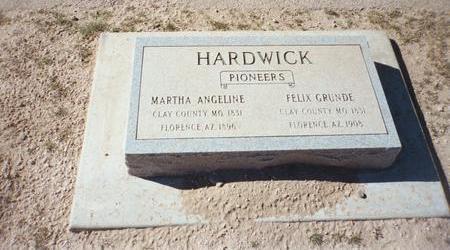 GRUNDE, FELIX - Pinal County, Arizona   FELIX GRUNDE - Arizona Gravestone Photos