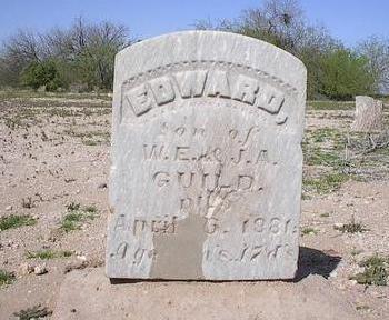 GUILD, EDWARD - Pinal County, Arizona   EDWARD GUILD - Arizona Gravestone Photos