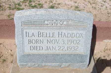 HADDOX, ILA BELLE - Pinal County, Arizona | ILA BELLE HADDOX - Arizona Gravestone Photos