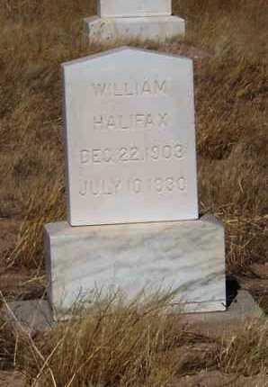 HALIFAX, WILLIAM - Pinal County, Arizona   WILLIAM HALIFAX - Arizona Gravestone Photos