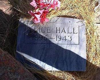 HALL, ALICE - Pinal County, Arizona | ALICE HALL - Arizona Gravestone Photos