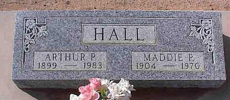 HALL, MADDIE P. - Pinal County, Arizona | MADDIE P. HALL - Arizona Gravestone Photos