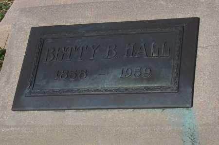 HALL, BETTY B. - Pinal County, Arizona   BETTY B. HALL - Arizona Gravestone Photos