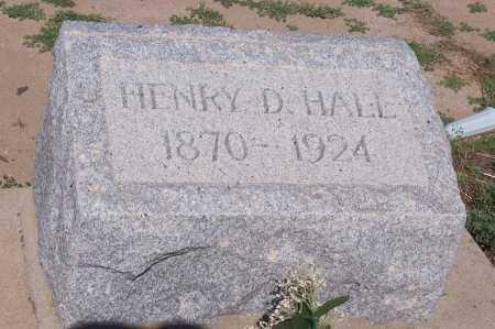 HALL, HENRY D. - Pinal County, Arizona   HENRY D. HALL - Arizona Gravestone Photos