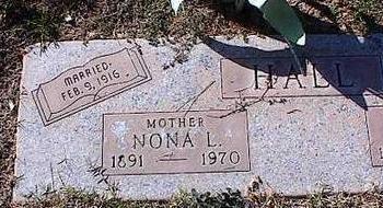 HALL, MONA L. - Pinal County, Arizona | MONA L. HALL - Arizona Gravestone Photos