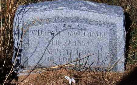 HALL, WILLIAM DAVID - Pinal County, Arizona   WILLIAM DAVID HALL - Arizona Gravestone Photos