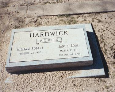 HARDWICK, JANE - Pinal County, Arizona | JANE HARDWICK - Arizona Gravestone Photos