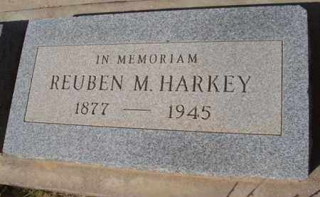 HARKEY, REUBEN M. - Pinal County, Arizona   REUBEN M. HARKEY - Arizona Gravestone Photos