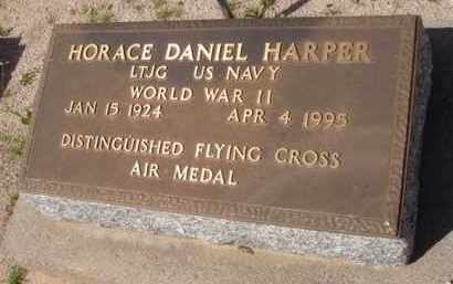 HARPER, HORACE DANIEL - Pinal County, Arizona | HORACE DANIEL HARPER - Arizona Gravestone Photos