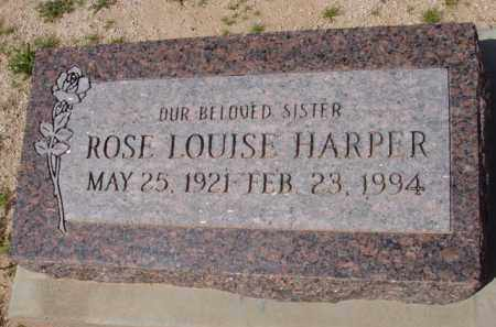 HARPER, ROSE LOUISE - Pinal County, Arizona | ROSE LOUISE HARPER - Arizona Gravestone Photos