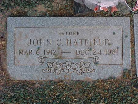 HATFIELD, JOHN  G. - Pinal County, Arizona | JOHN  G. HATFIELD - Arizona Gravestone Photos