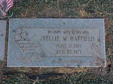 HATFIELD, NELLIE  M. - Pinal County, Arizona   NELLIE  M. HATFIELD - Arizona Gravestone Photos