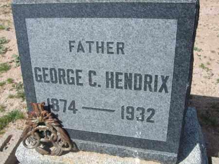 HENDRIX, GEORGE C. - Pinal County, Arizona | GEORGE C. HENDRIX - Arizona Gravestone Photos