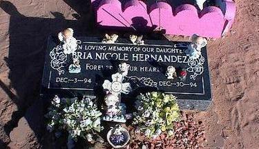 HERNANDEZ, BRIE NICOLE - Pinal County, Arizona | BRIE NICOLE HERNANDEZ - Arizona Gravestone Photos
