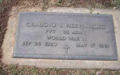 HERNANDEZ, CLAUDIO S. - Pinal County, Arizona   CLAUDIO S. HERNANDEZ - Arizona Gravestone Photos
