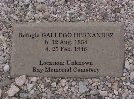 HERNANDEZ, REFUGIA - Pinal County, Arizona   REFUGIA HERNANDEZ - Arizona Gravestone Photos