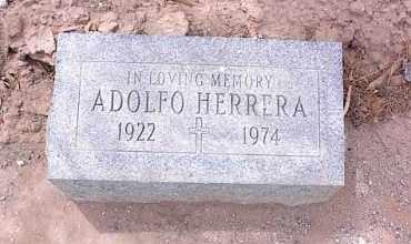 HERRERA, ADOLFO - Pinal County, Arizona | ADOLFO HERRERA - Arizona Gravestone Photos