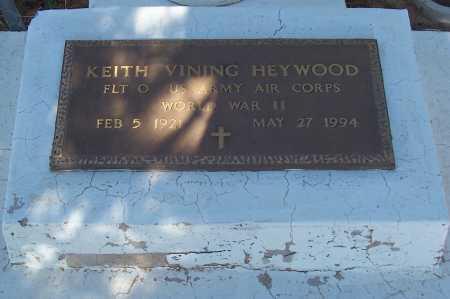 HEYWOOD, KEITH VINING - Pinal County, Arizona | KEITH VINING HEYWOOD - Arizona Gravestone Photos