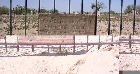 FOREMAN HICKEY, PAMELA AUGUSTA - Pinal County, Arizona   PAMELA AUGUSTA FOREMAN HICKEY - Arizona Gravestone Photos
