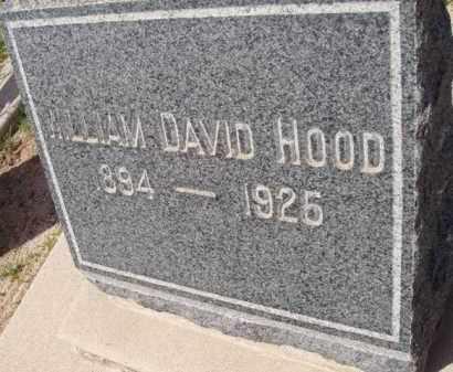 HOOD, WILLIAM DAVID - Pinal County, Arizona   WILLIAM DAVID HOOD - Arizona Gravestone Photos