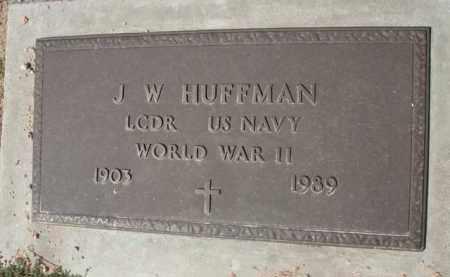 HUFFMAN, J. W. - Pinal County, Arizona | J. W. HUFFMAN - Arizona Gravestone Photos