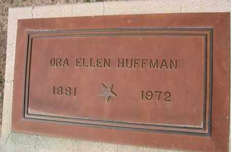 HUFFMAN, ORA ELLEN - Pinal County, Arizona | ORA ELLEN HUFFMAN - Arizona Gravestone Photos