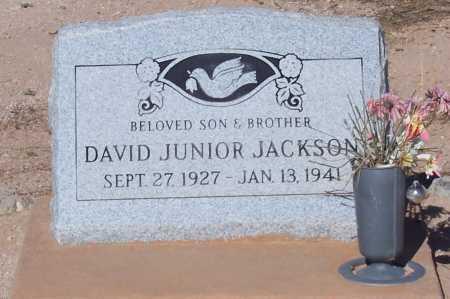 JACKSON, DAVID JUNIOR - Pinal County, Arizona   DAVID JUNIOR JACKSON - Arizona Gravestone Photos