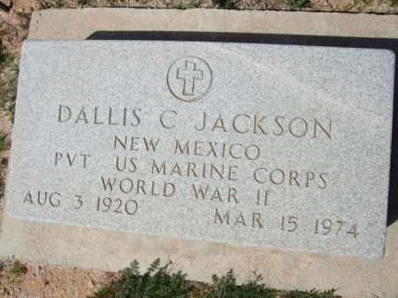 JACKSON, DALLIS C. - Pinal County, Arizona | DALLIS C. JACKSON - Arizona Gravestone Photos