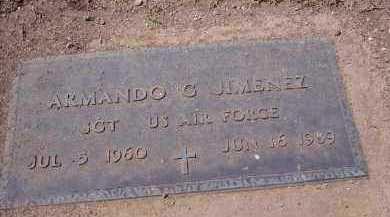 JIMENEZ, ARMANDO G. - Pinal County, Arizona   ARMANDO G. JIMENEZ - Arizona Gravestone Photos