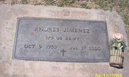 JIMENEZ, ANDRES - Pinal County, Arizona | ANDRES JIMENEZ - Arizona Gravestone Photos