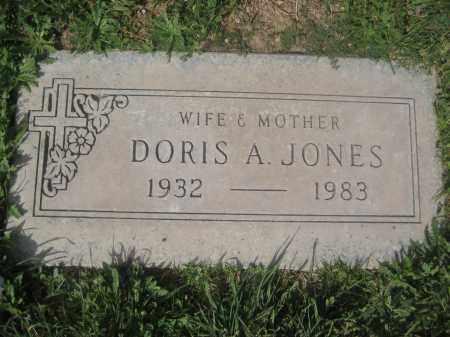 JONES, DORIS A. - Pinal County, Arizona | DORIS A. JONES - Arizona Gravestone Photos